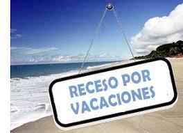 Receso por vacaciones