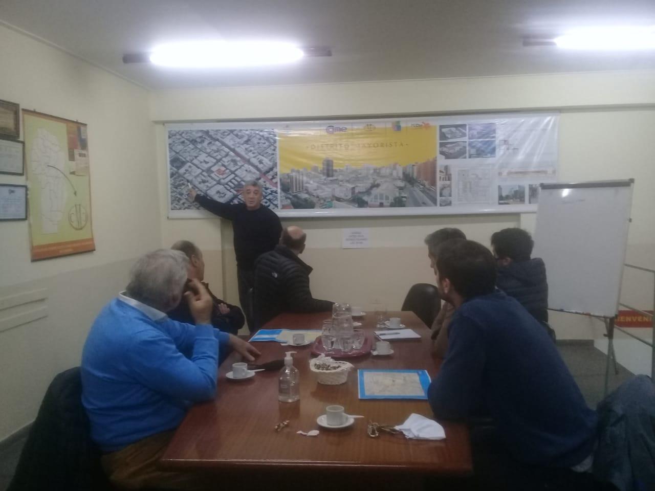 Reunión con el Subsecretario de Tránsito y Educación Vial de la Municipalidad de Córdoba