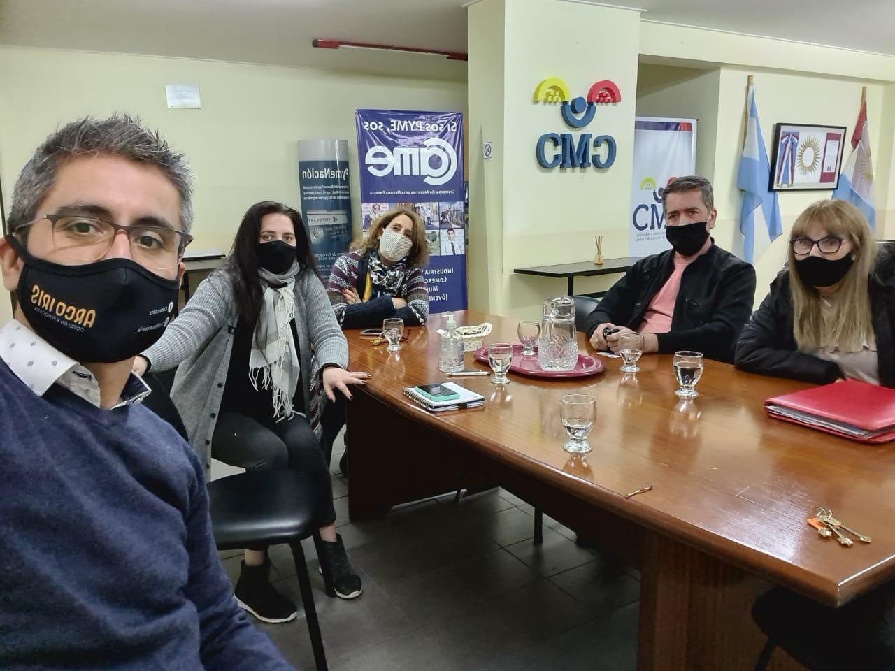 Reunión con autoridades del Mercado Sur