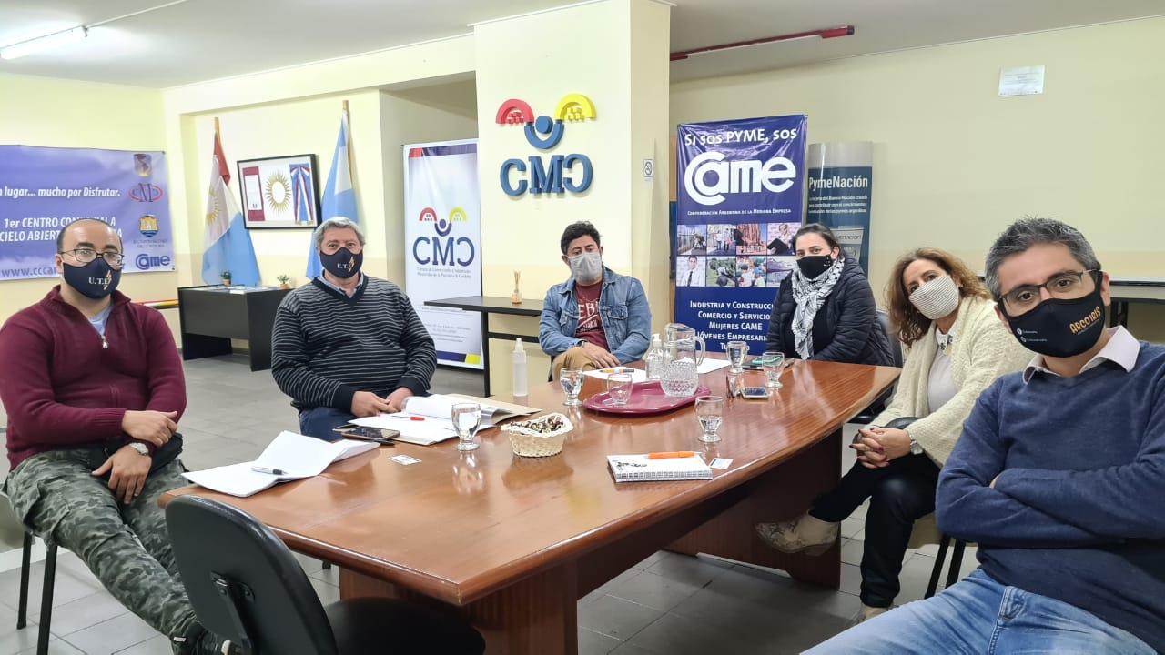 Reunión con Unión de Transportistas Escolares