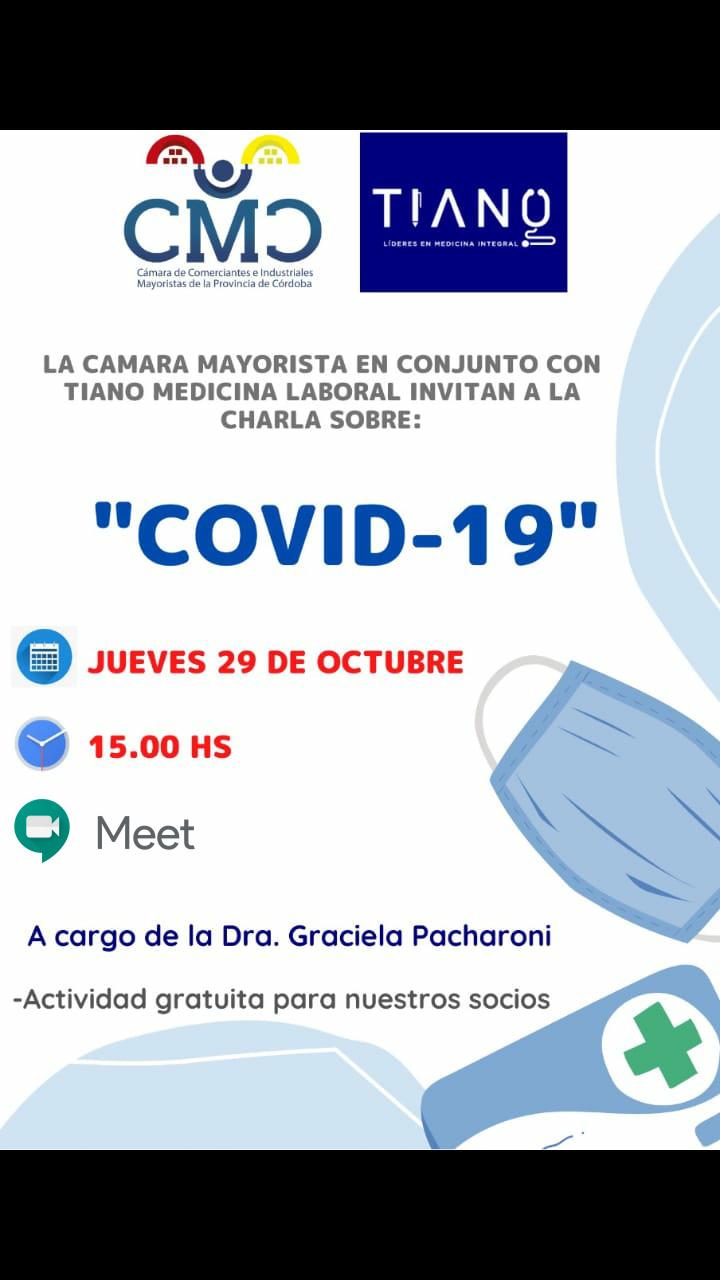 Charla sobre COVID-19